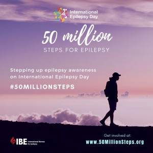 50 Million Steps for Epilepsy